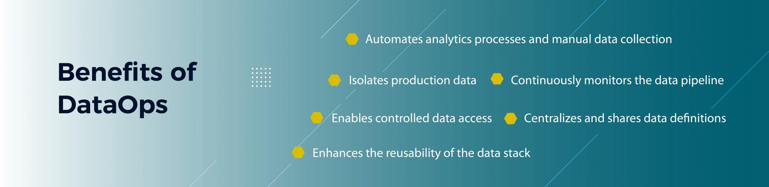 Benefits of DataOps