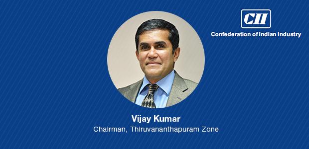 Vijay Kumar, InApp CEO, Chairman of the Confederation of Indian Industry (CII), Thiruvananthapuram Zonal Council